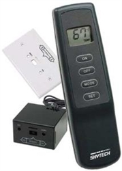 Skytech 1001th Four Button Fireplace Remote Control On Of