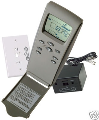 3301P Eight Button Programmable Wireless Fireplace Control ...