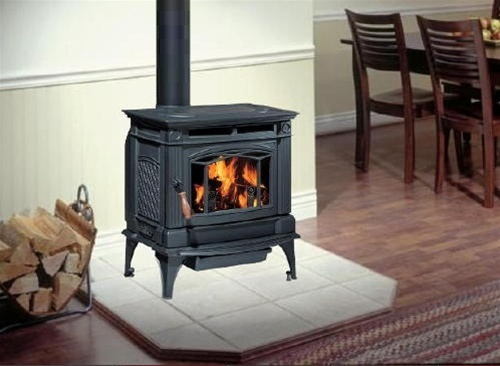 - REGENCY HAMPTON H300 CAST IRON LARGE WOOD STOVE