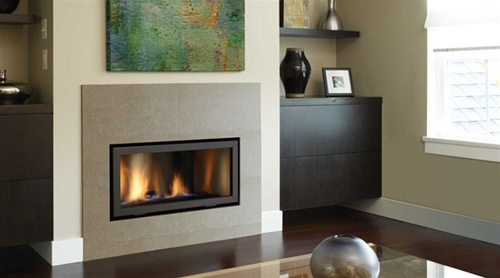 Regency Hz30e Small Contemporary Gas Fireplace Direct Vent