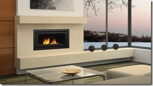 REGENCY HORIZON HZ40E LARGE MODERN GAS FIREPLACE DIRECT VENT