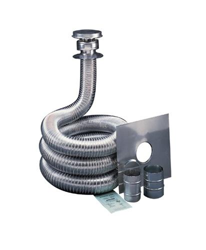 Deflect O Gas 3 Quot X 35 Aluminum Flex Liner Kit