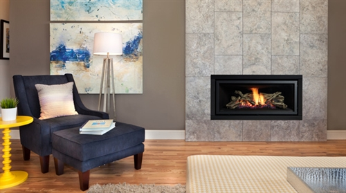 U900E LARGE CONTEMPORARY LINEAR WIDE VIEW MODERN GAS FIREPLACE ...