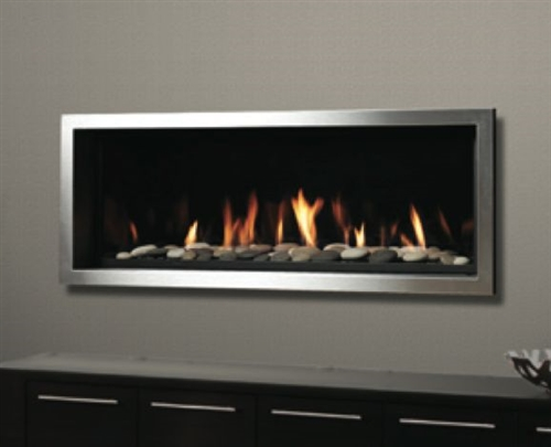Kingsman Zrb46n 46 Linear Gas Fireplace Direct Vent
