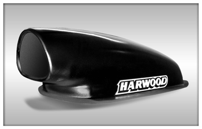 Harwood Tri-Aero Mini Hood Scoop