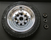 Wheel and tire package (front) for Mini Rods