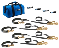 Mac's Super Pack Tie DOwn Kit w/Integrated Axle Straps
