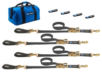 Mac's Ultra Pack Tie Down Strap Kit w/Detachable Axle Straps