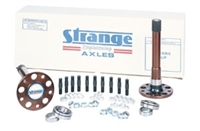 "Strange 35 Spline Gun Drilled axles, bearings and 5/8"" stud kit"