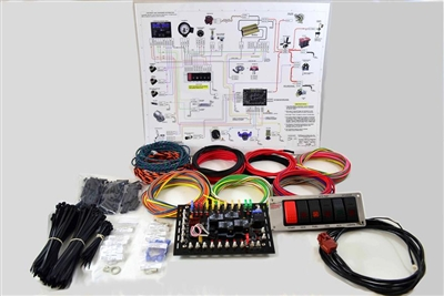 K&R Performance Engineering Super-Duty Complete Wiring Kit