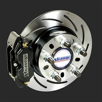 Strange Engineering Pro Series Rear Disc Brake Kit 2005-2014 Mustang OEM Ends