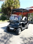 Club Car Precedent Black Golf Cart