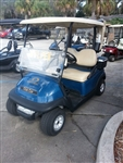 Club Car Precedent Blue Golf Cart