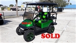 2015 Candy Emerald Green Club Car Precedent Golf Cart