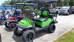 2017 Lime Green Club Car Precedent Golf Cart