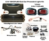 Club Precedent Carbon Fiber Head & LED Tail Light Kit
