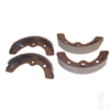 Brake Shoes, SET OF 4, EZGO, Club Car, Yamaha.