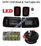 Club DS Adjustable LED Headlight & LED Tail Light Kit.