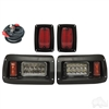 Club DS Adjustable LED Headlight & LED Tail Light Kit LGT-355L