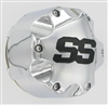 ITP SS Chrome Center Cap For Golf Cart Wheel