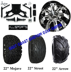 AllSports DS Super Sport Lift Kit Vegas Wheel &Tire Combo #4