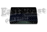Club Car DS Access Panels in Black Diamond Plate Aluminum