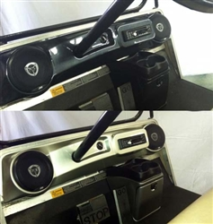 Club DS Elite Dash Cover with Radio Speaker Cutouts