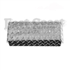 Club Car DS Front Bumper Cover in Diamond Plate Aluminum