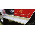 Club Car DS Diamond Plate Aluminum Running Boards
