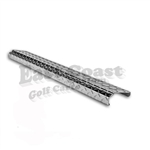 Club Car DS Rear Bumper Cover in Diamond Plate Aluminum