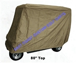 4 Passenger With Long Top Vented Golf Cart Cover