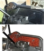 EZGO RXV Dash Cover with Locking Glove Box