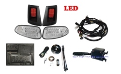 Factory Style EZGO RXV LED Deluxe Street Legal Light Kit #LGT-510LC