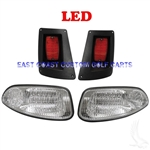 Factory Style RXV LED Headlight & LED Tail Light Kit #LGT-310LC