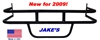 Jakes EZGO Marathon Black Steel Brush Guard