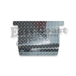 EZGO 94 Up Access Panels in Diamond Plate Aluminum