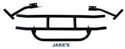 Jakes Sport Black Steel Brush Guard EZGO TXT