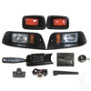 EZGO Deluxe Dual Headlight Street Legal Kit #LGT-504