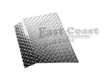 EZGO TXT Shock Cover in Diamond Plate Aluminum