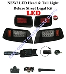 EZGO LED Deluxe Street Legal Light Kit  #LGT-504L