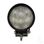 4.5 inch Round LED Golf Cart Utility Spot Light