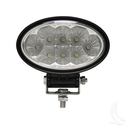 5.75 inch LED Oval Golf Cart Utility Spot Light