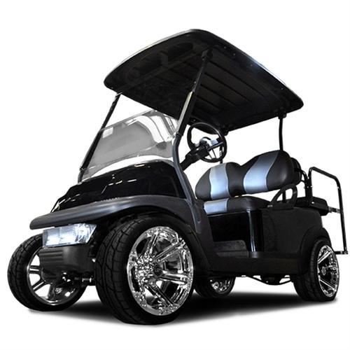 low profile lift kit for club car precedent golf carts. Black Bedroom Furniture Sets. Home Design Ideas