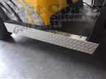 Club Precedent Rocker Panels in Diamond Plate Aluminum