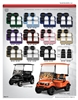 Double Take Clubhouse Series Golf Cart Seat Cushions