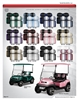 Double Take Extreme Series Golf Cart Seat Cushions
