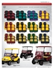 Fanatic Series Golf Cart Seat Cushions Double Take