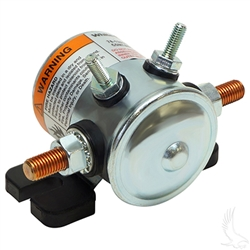 Solenoid, 36V 4 Terminal Copper/Short, E-Z-Go Electric Cars