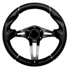 "13"" Challenger Black Steering Wheel"