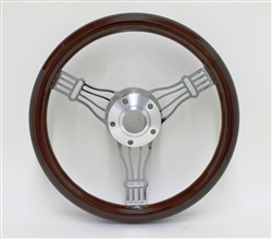 14 Inch Discord Wood Steering Wheel